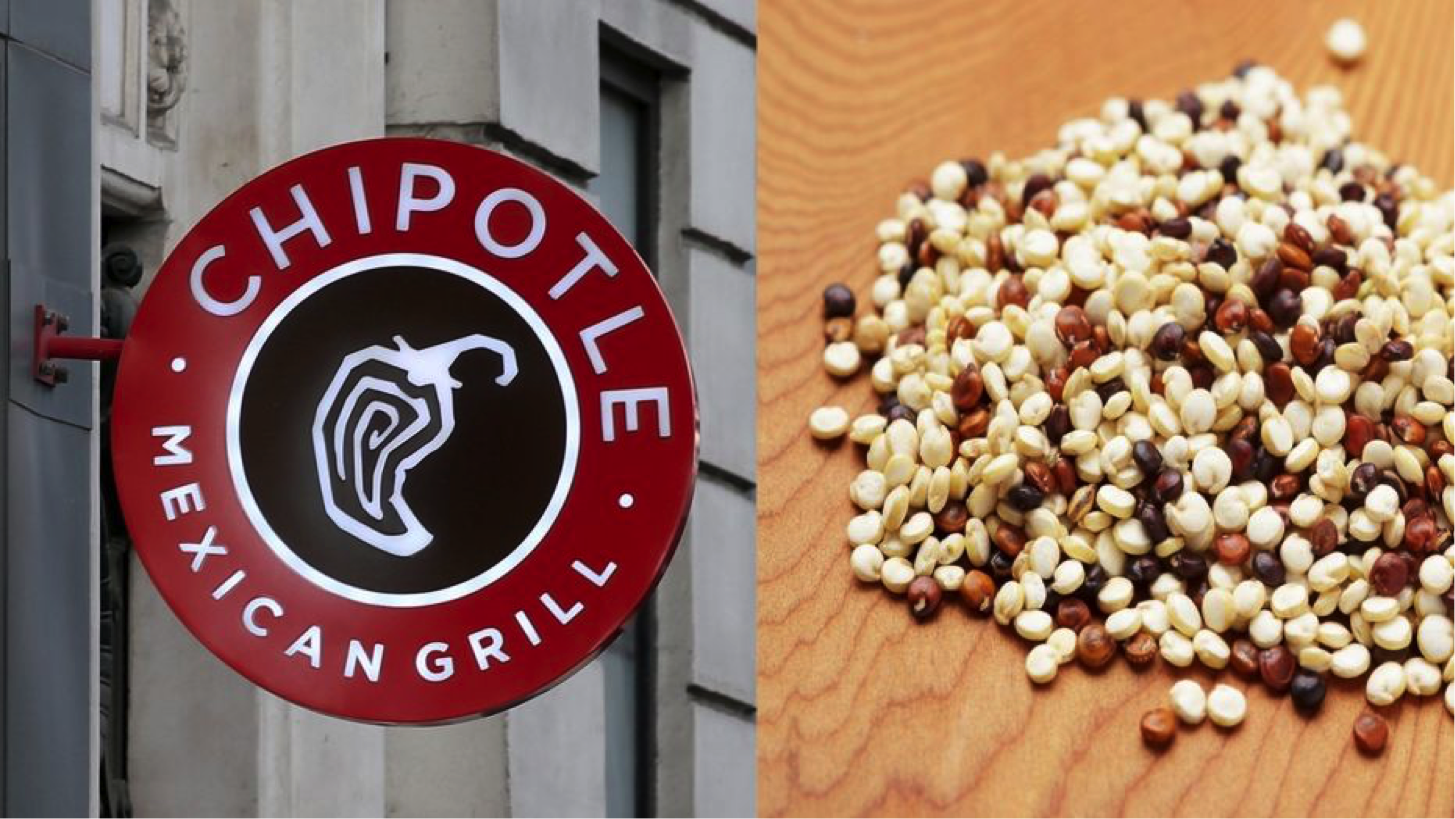 Chipotle tests quinoa as new menu item
